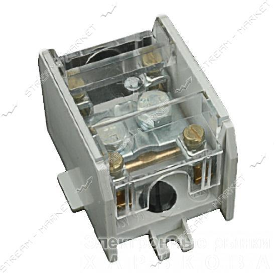 Клеммная колодка магистральная SV 1х35/4х16 латунный контакт - Элементы крепежа кабеля на рынке Барабашова
