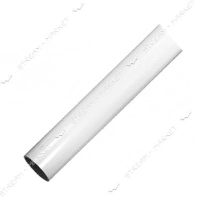 Трубка термоусадочная 10мм белая бухта 100м
