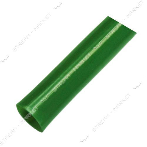 Трубка термоусадочная 14мм зеленая бухта 100м