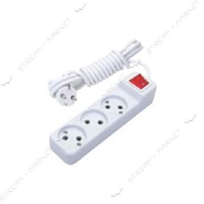 Удлинитель 3/2м DE-PA 31002 c выключателем