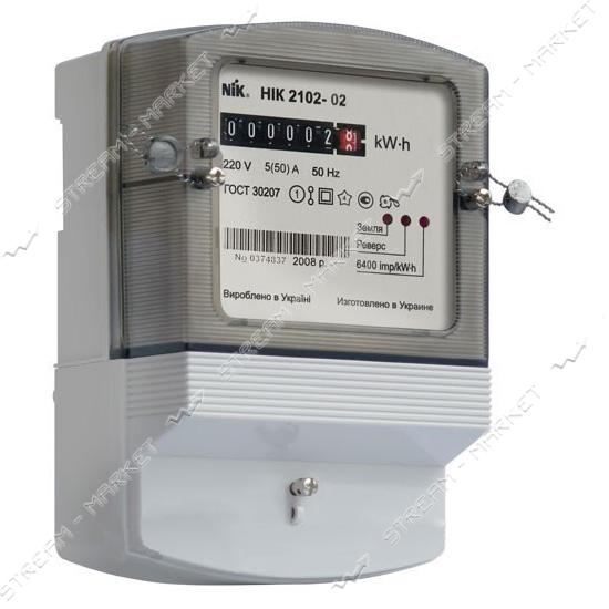 Электросчетчик 1 фазный NIK 2102-02 М1 5-60 А
