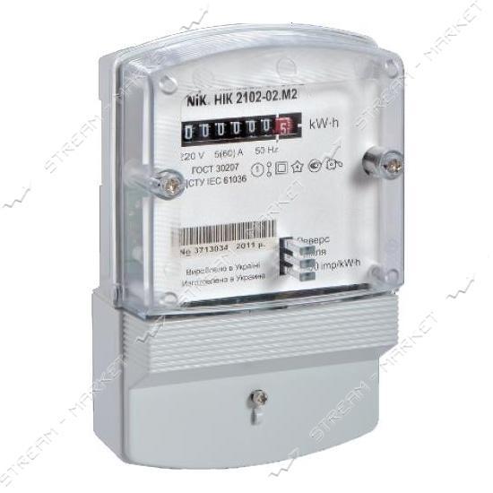 Электросчетчик 1 фазный NIK 2102-02.М2 5-60 А