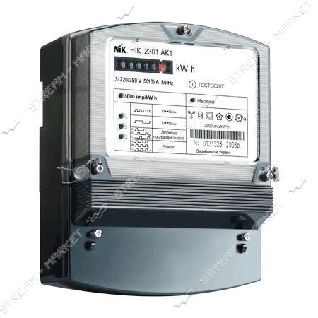 Электросчетчик 3-х фазный NIK 2301-АП2 5-60 А