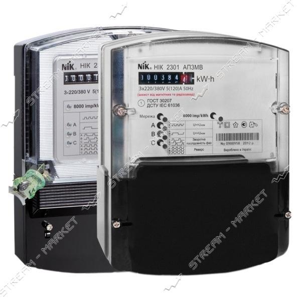 Электросчетчик 3-х фазный NIK 2301-АП3 5-120 А