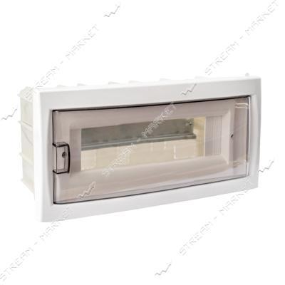 Коробка под 12 автоматов BYLECTRICA КНС-12Д со стеклом, для внутр.монтажа (белая) Беларусь