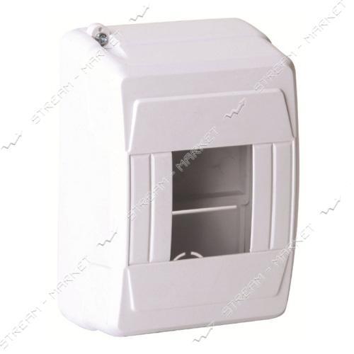 Коробка под 3-4 автомата DE-PA 91103 без стекла наружнная (белый) Турция
