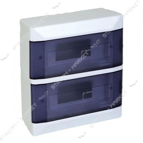 FAR коробка под автоматы на 24 авт со стеклом (наружная)