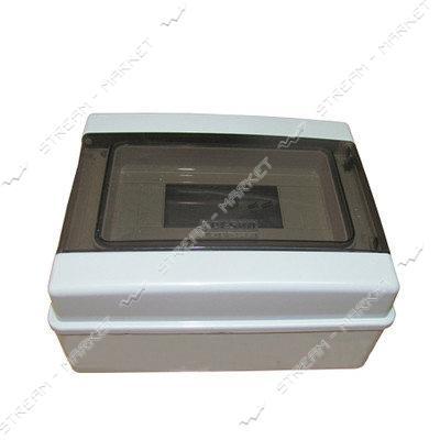 Get-San коробка под автоматы влаогозащитная IP54 на 9 авт со стеклом (наружная)