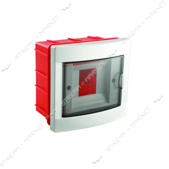 Щиток электрический VIKO 90912004 на 4 автомата со стеклом внутренний