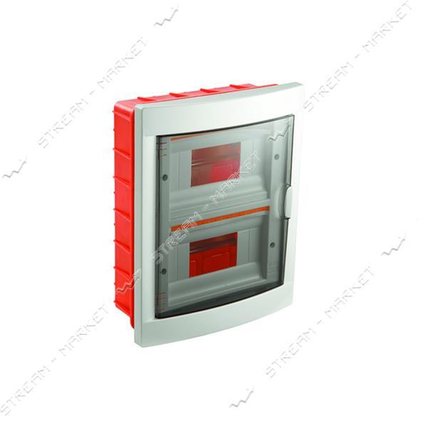 Щиток электрический VIKO 90912016 на 16 автомата со стеклом внутренний