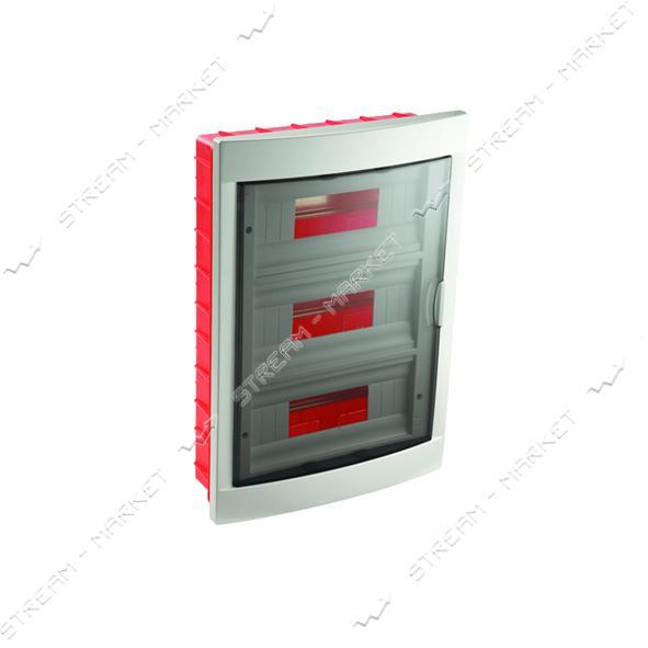 Щиток электрический VIKO 90912036 на 36 автомата со стеклом внутренний