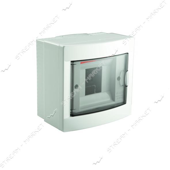 Щиток электрический VIKO 90912004 на 4 автомата со стеклом наружный