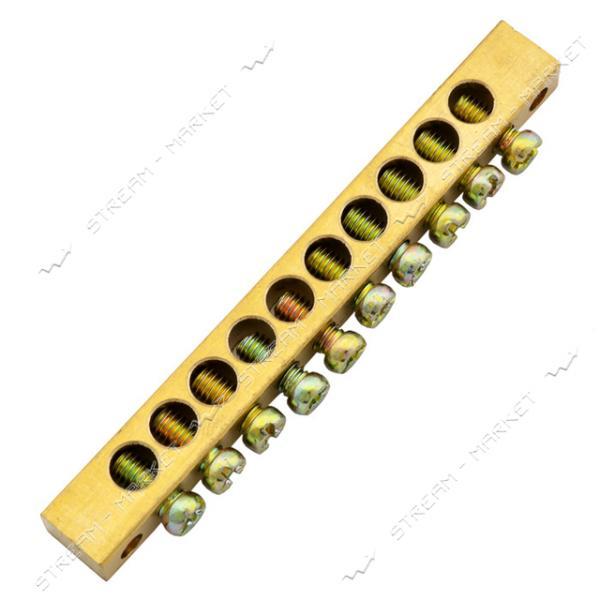 Нулевая шина 10/2 отверстий