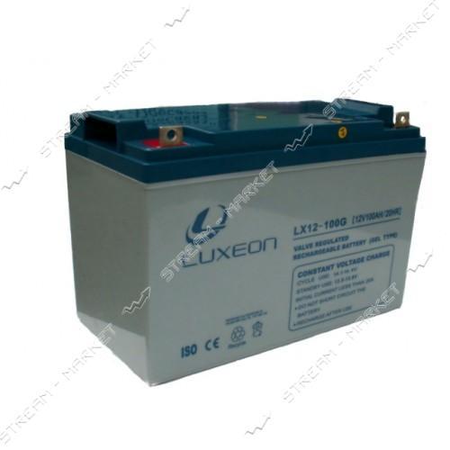 Аккумуляторная батарея LUXEON LX 12-100G 6V 100Аh