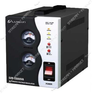 Стабилизатор напряжения LUXEON SVR-10000VA черный