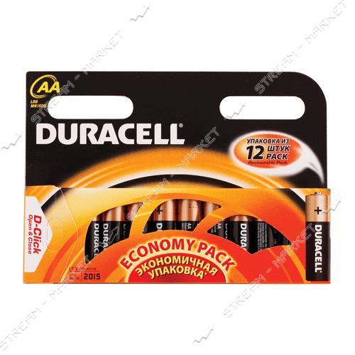 Батарейка Duracell АА/LR06 ('пальчик') (уп.12 шт. цена за уп.)