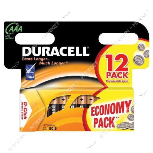 Батарейка Duracell LR03 ('микропальчик') (уп.12 шт. цена зауп.)