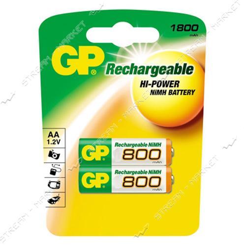 Аккумулятор GP AAA/HR03 800 mAh уп.2 шт цена за уп.
