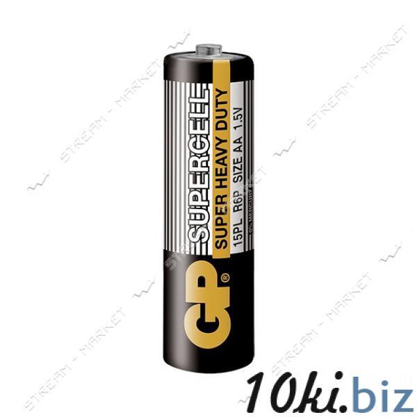 Батарейка GP Supercell солевая AA/R6 ('пальчик') (уп.2 шт. цена за уп.) Батарейки на Электронном рынке Украины