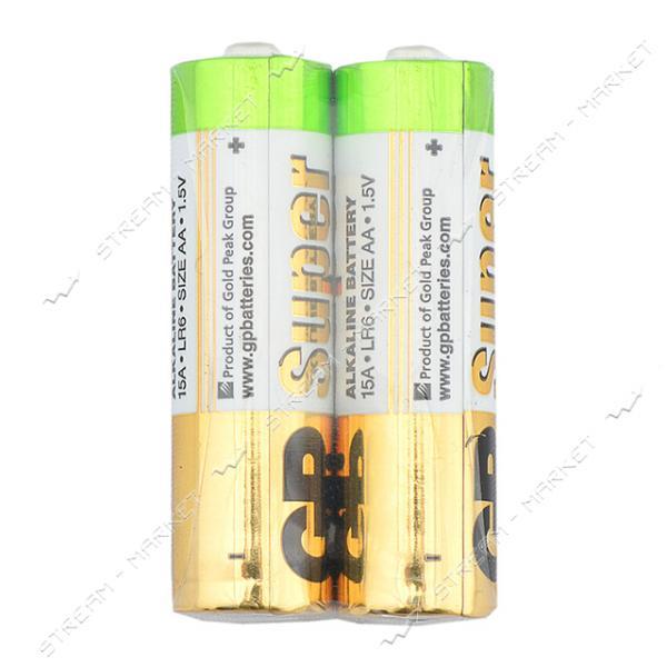 Батарейка GP Super AA/LR6 ('пальчик') (уп.2 шт. цена за уп.)