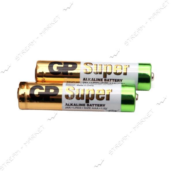 Батарейка GP Super AAА/LR03 ('микропальчик') (уп.2 шт. цена за уп.)