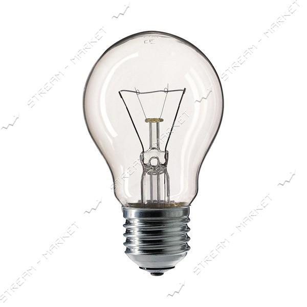 Philips Лампа ЛЗП (накаливания общего назначения) А55 230В 100Вт Е27 прозрачная