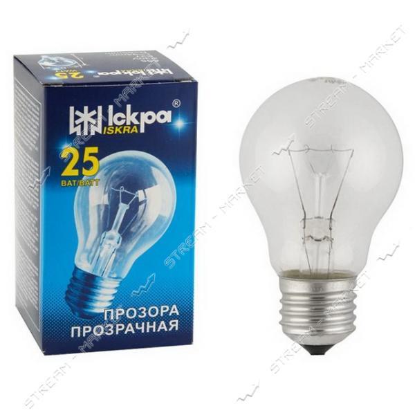 Лампа ЛЗП Львов Искра А55 230В 25Вт Е27 (10 шт)