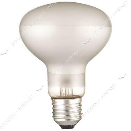 DELUX_10007871 лампа рефлекторная R80 60Вт Е27_мат.