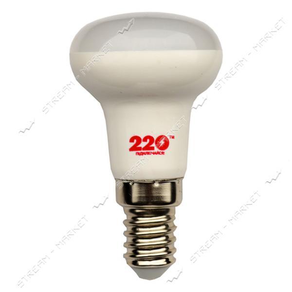Лампа светодиодная 220 R50 4W 4100К E14