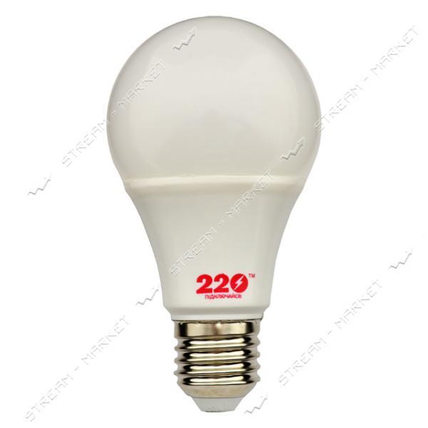 Лампа светодиодная 220 A60 12W 4100К E27