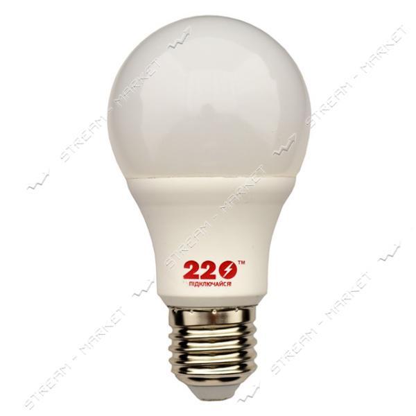 Лампа светодиодная А60 220 10W 4100К Е27