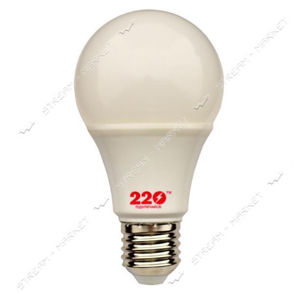 Лампа светодиодная 220 А60 15W 4100К Е27