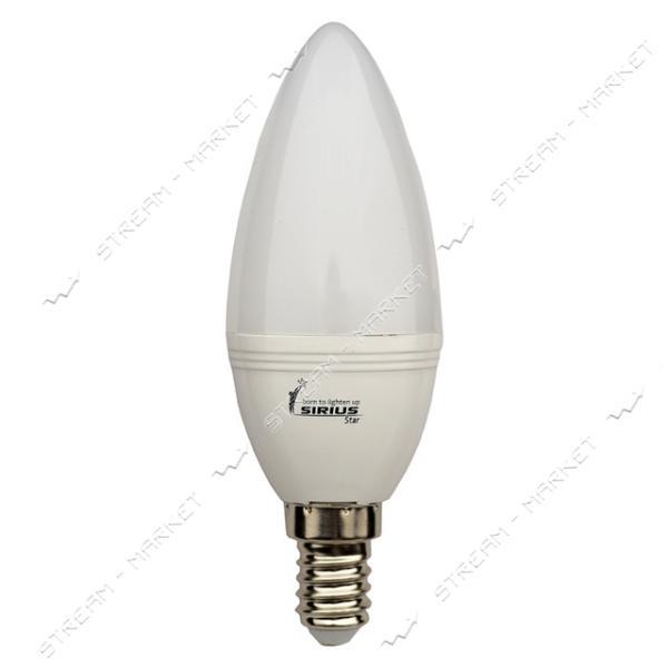 Лампа светодиодная SIRIUS 1-LS-1204 6W E14