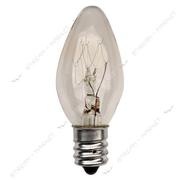 Лампочка в ночник 'Лилия' 10вт E12 220 В (только по 50 шт)