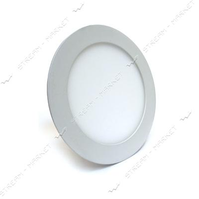 Светильник LED Down Light алюмин.корп. 18W круг 2700-3500К врезной