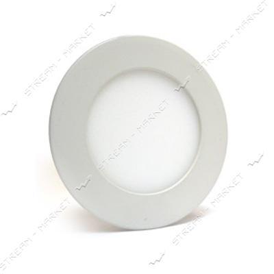 Светильник LED Down Light 3W круг 4000К врезной