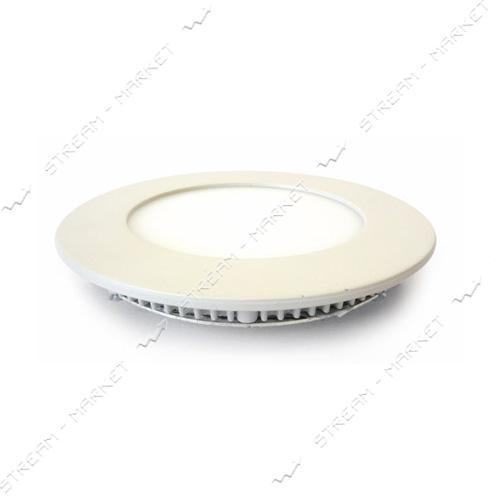 Светильник LED Down Light алюмин.корп. 3W круг 3000К врезной