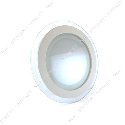 Светильник LED Down Light Glass Rim 12W круг 4000К врезной
