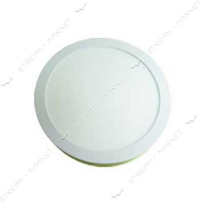 220 LED-PANEL-12WR D/172mm aluminium 2835smd 4100К IP20 круг встраиваемый