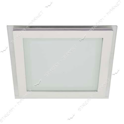 FERON панель светодиодная AL2111 6W квадрат, белый 480Lm 5000K 100*40mm