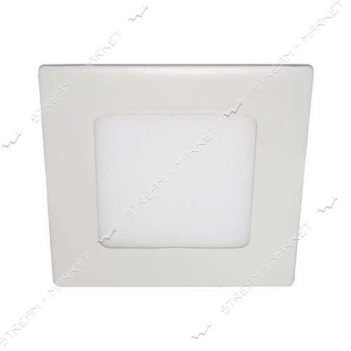 FERON панель светодиодная AL511 6W квадрат, белый 360Lm 4000K 120*120*13mm