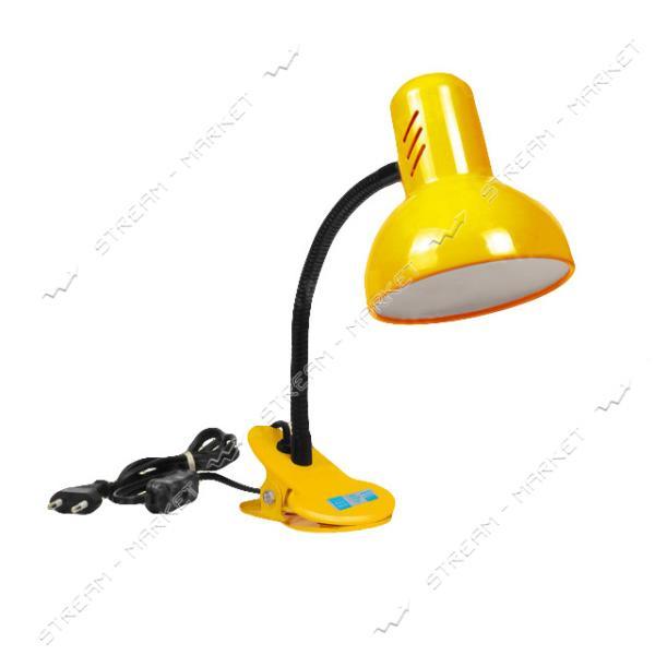 Светильник настольный-прищепка 'Подсолнух' (желтый) E27