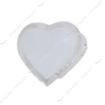 Ночник 'Сердце' белый LEMANSO