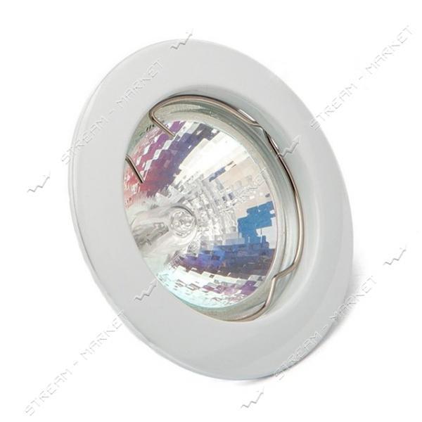 Cветильник точечный Delux 10008646 MR16 GU5.3 белый