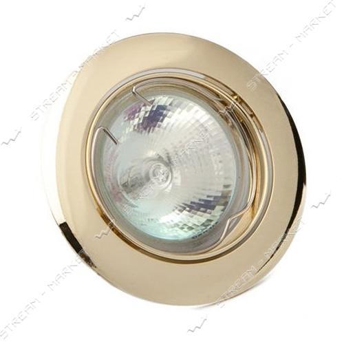 Cветильник точечный Delux 10008651 MR16 GU5.3 золото