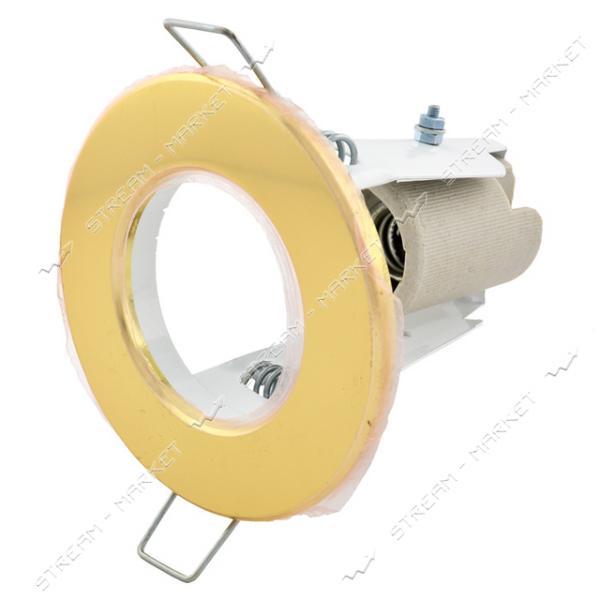 Светильник точечный СТ50 золото Е14