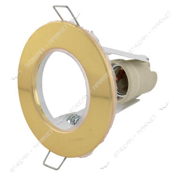 Светильник точечный СТ63 золото Е27