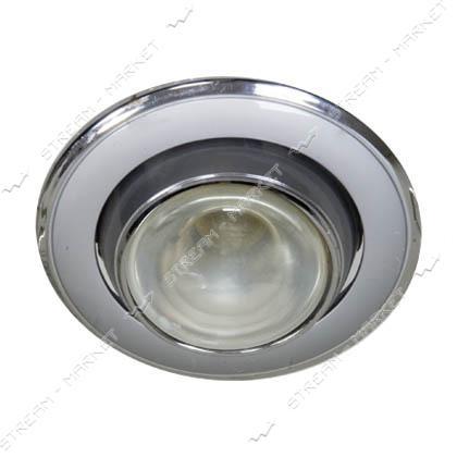 Cветильник точечный FERON 301Тпод MR-16 серый-хром