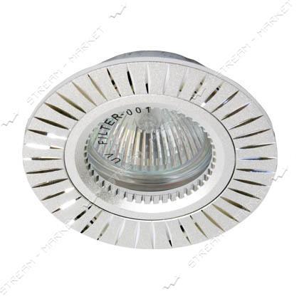 Cветильник точечный FERON GS-M394 MR16 серебро