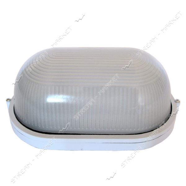 SY 103B IP54 W, 100Вт Е27 светильник пылевлагозащ. НПП 'Омега' овал/стекло, белый/8